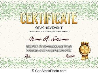證明, ......的, achievement., 象素, design.