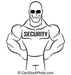 警備員, 漫画