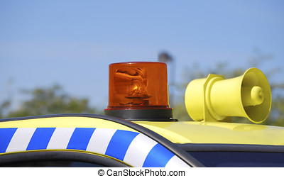 警報器, 緊急事件