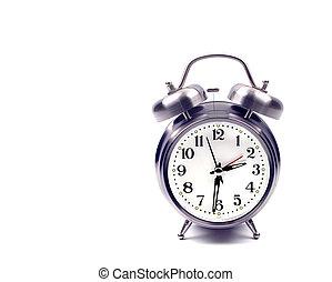 警報, オブジェクト, -, 時計