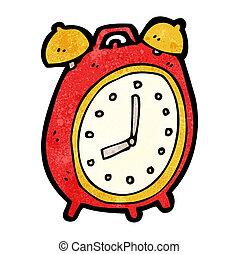 警報, 漫画, 時計