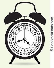 警報, 矢量, 鐘