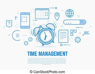 警報, 管理, 時間鐘