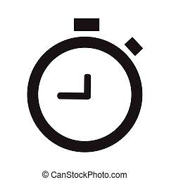 警報, clock-vector, 圖象