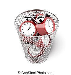 警報,  clocks, 垃圾