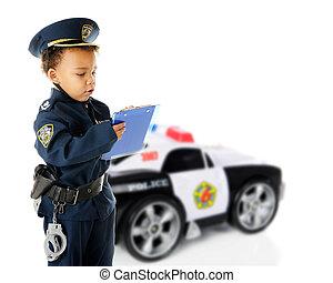 警官, ticket-writing