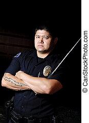警察のバトン