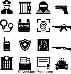 警察, アイコン