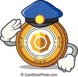 警察, コイン, 特徴, 漫画, komodo