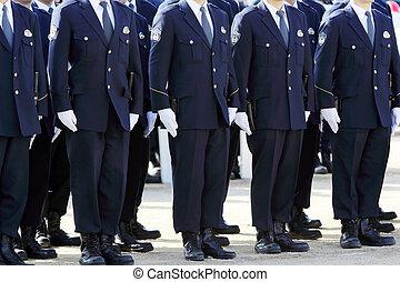 警察, 日本語, 役人