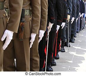 警察, 軍隊, th, 力, の間, 高山, 武装させられた, イタリア語