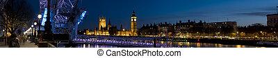 議会, 目, -, 家, ロンドン, twilight., xxl