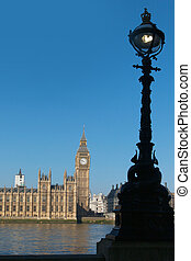 議會的房子, london.
