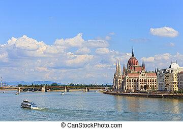 議會, 在, 布達佩斯, 匈牙利