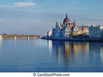 議會, 在, 布達佩斯
