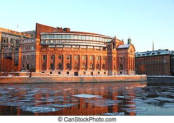 議會, 房子, 斯德哥爾摩