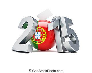 議會, 選舉, 在, 葡萄牙, 2015