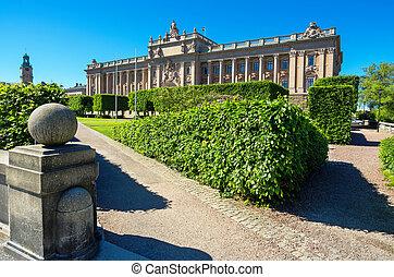 議會, house., 斯德哥爾摩, 瑞典