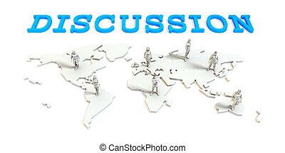 議論, グローバルなビジネス