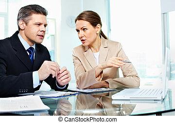 議論, ビジネス