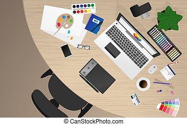 设计者, 工作场所, 办公室工人