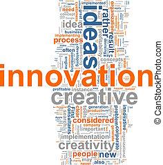词汇, 云, 革新