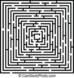 谜宫, 复杂, 背景, 描述
