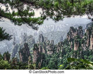 谷, zhangjiajie