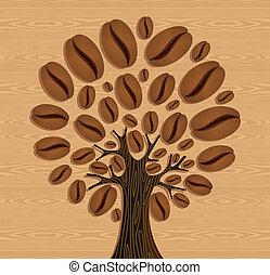 豆, コーヒー木