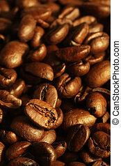 豆, コーヒー, 山
