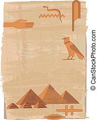 象形文字, ピラミッド