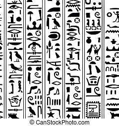 象形文字, 装飾, エジプト人