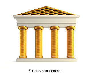 象徴的, 銀行