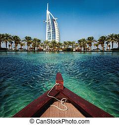 豪華, 地方, 胜地, 以及, 礦泉, 為, 假期, 在, 迪拜, 阿拉伯聯合酋長國