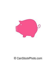 豬, 圖象, 矢量