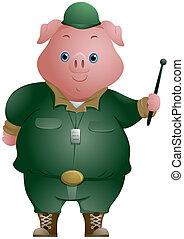 豬, 士兵