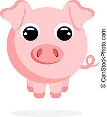 豬, 套間, 矢量