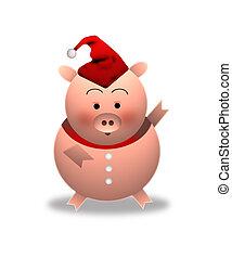 豬, (christmas)