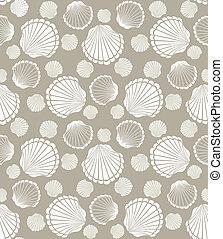 貝殻, パターン