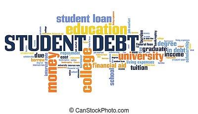 負債, 学生