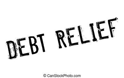 負債, 救助, ゴム製 スタンプ