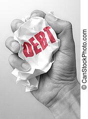 負債, 縮小