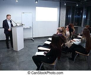 財政, ビジネス, プロジェクト, チーム, 新しい, プレゼンテーション