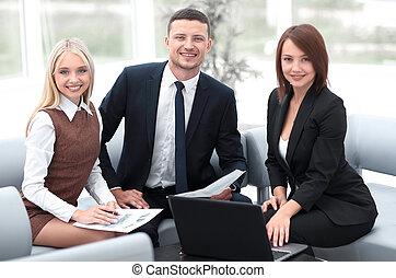 財政, ビジネス, 仕事, チーム, 専門家, documents.