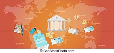 財政, 支配, 銀行業, お金, 規則, 政府, 債券