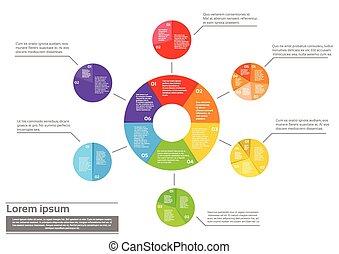 財政, 金融, パイ, 図, infographic, 文書
