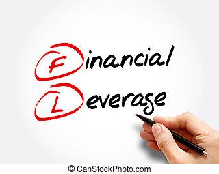 財政, -, fl, 頭字語, てこ比
