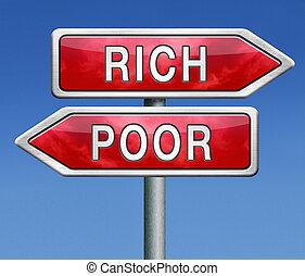貧しい, ∥あるいは∥, 豊富