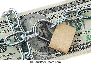 貨幣, 美國人, 被鎖