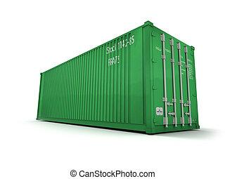 貨物容器, 綠色